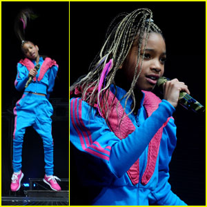Willow Smith Whips Into Birmingham