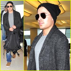 Zac Efron Heads Back To LA