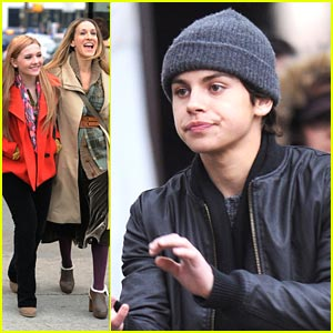 Abigail Breslin & Jake T. Austin: New Year's Eve in NYC!