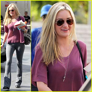 AJ Michalka's Smiley Sunday