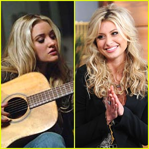 Aly & AJ Michalka Jam on 'Hellcats'