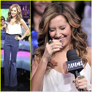 Ashley Tisdale: New.Music.Live Lady