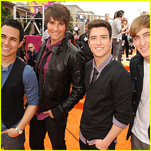 Big Time Rush - KCA 2011 Orange Carpet