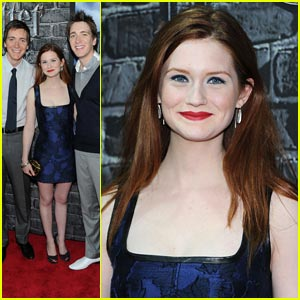 Bonnie Wright: Harry Potter Exhibition Opening!