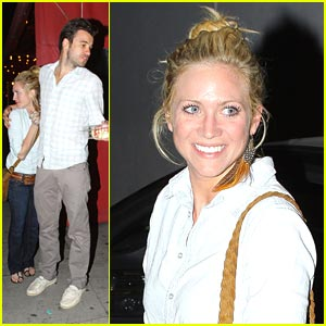Brittany Snow: Dinner Date Night
