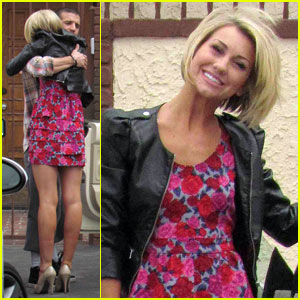 Chelsea Kane & Mark Ballas Hug It Out