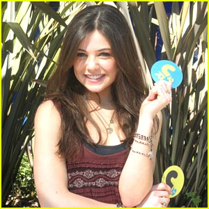 Danielle Campbell Steers Clear of Love Triangles