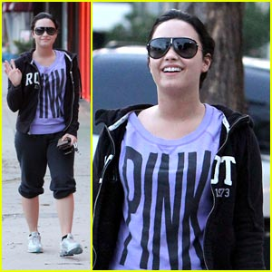 Demi Lovato: Purple Is The New Pink