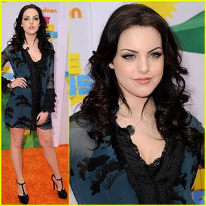 Elizabeth Gillies - Kids' Choice Awards 2011