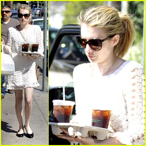 Emma Roberts: Take Out For Two