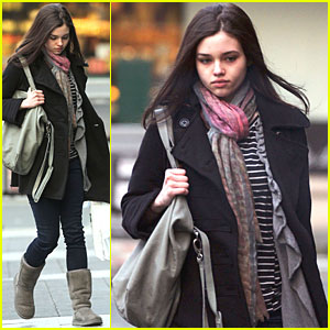 India Eisley: Vancouver for 'Underworld 4'!