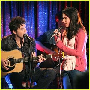 Josie Loren Sings on Make It Or Break It!