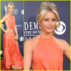 Julianne Hough: Randi Rahm Ravishing at the ACMs 2011