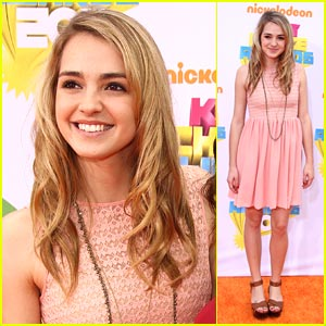 Katelyn Tarver: Kids Choice Cutie!
