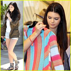 Kendall & Kylie Jenner: Summer Shopping Spree!
