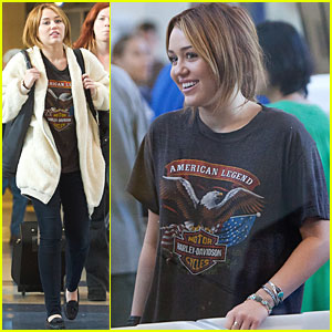 Miley Cyrus: Leaving L.A. for Gypsy Heart Tour!