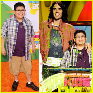 Rico Rodriguez - KCA 2011 with Russell Brand