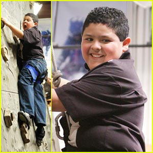 Rock Climbing with Rico Rodriguez