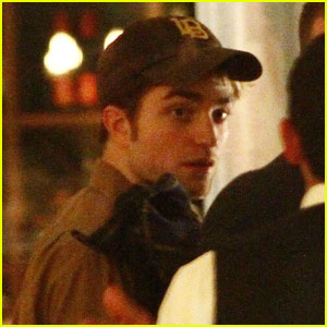 Robert Pattinson: Bocca di Bacco in Berlin!