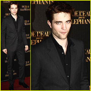 Robert Pattinson: Paris Premiere!