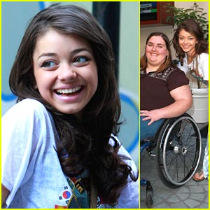 Sarah Hyland: Wallflower Winners Lunch at the W Hotel