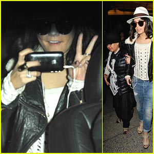 Vanessa Hudgens: Back in Los Angeles!
