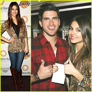 Victoria Justice & Ryan Rottman: Let's Go Lakers!