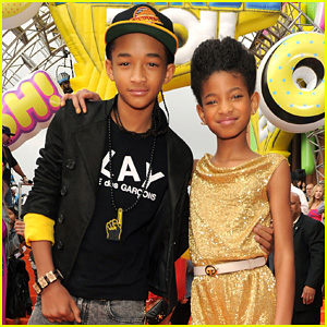 Willow & Jaden Smith - KCA 2011 Orange Carpet