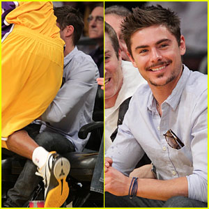 Zac Efron: Trampled On by Kobe Bryant!