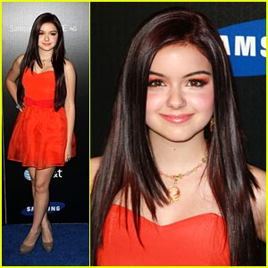 Ariel Winter Sizzles for Samsung
