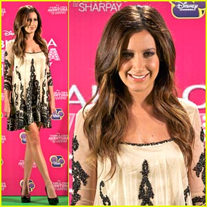 Ashley Tisdale: Sharpay in Madrid!