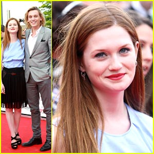 Bonnie Wright & Jamie Campbell Bower: National Movie Award ...