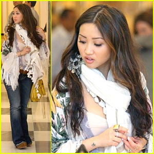 Brenda Song: Barneys Shoe Shopper