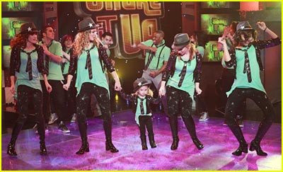 Good Luck Charlie & Shake It Up Crossover -- PICS & VIDEO!