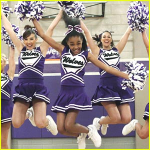China McClain Cheers for Webster Wolves