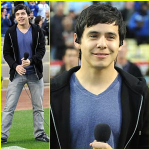 David Archuleta: Dodgers Game Anthem Singer