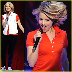 Dianna Agron: Live From Vegas!