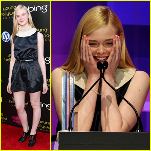 Elle Fanning: Young Hollywood Awards 2011