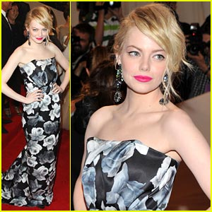 Emma Stone is Lanvin Lovely