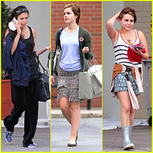 Emma Watson & Nina Dobrev: 'Perks of Being A Wallflower' Women
