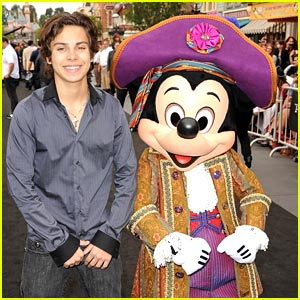 Jake T. Austin: They Shut Down Disneyland!