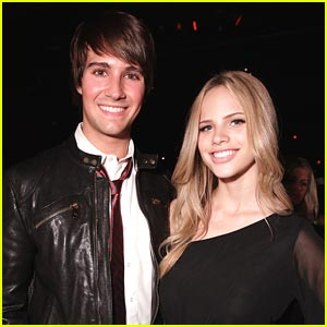 James Maslow: Nylon Party with Halston Schrage
