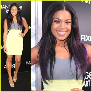 Jordin Sparks: Hangover II Premiere With Romeo!