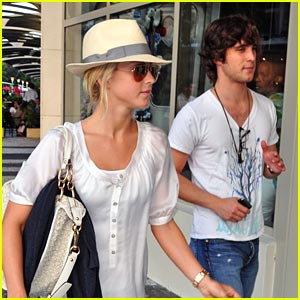Julianne Hough & Diego Boneta: Let's Go To The Movies