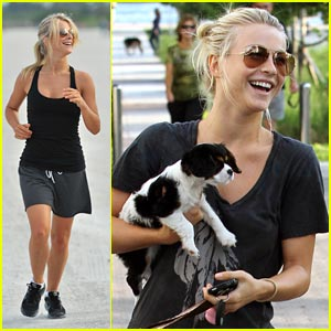 Julianne Hough: Miami Marathon