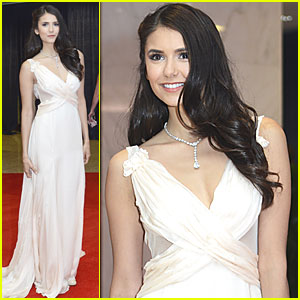 Nina Dobrev: White House Correspondents' Dinner!