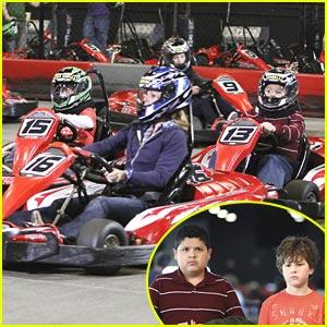 Rico Rodriguez & Nolan Gould: Let's Go Racing!