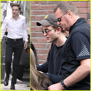 Robert Pattinson: 'Cosmopolis' Cute