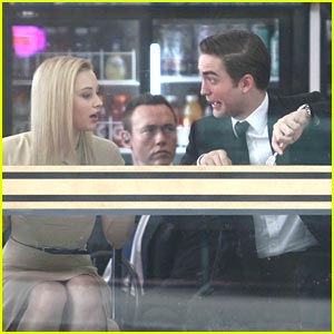 Robert Pattinson: Funny Faces on 'Cosmopolis' Set