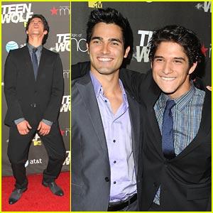 Tyler Posey & Tyler Hoechlin: 'Teen Wolf' Premiere Pals